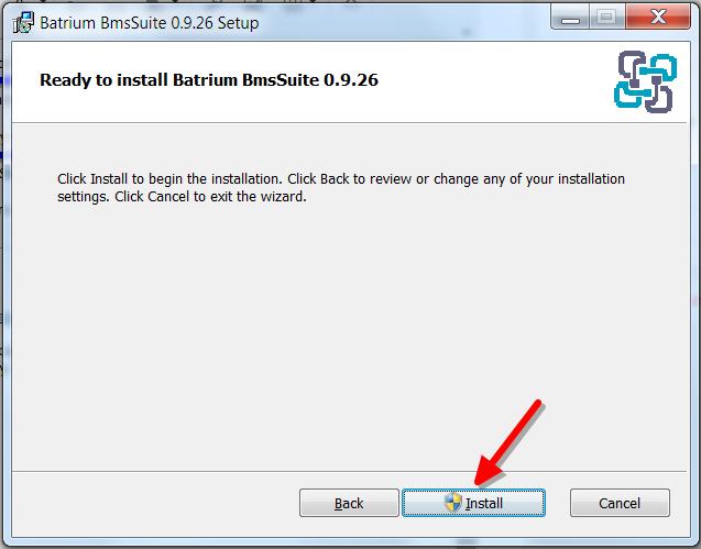 How to install the BmsSuite software – Batrium